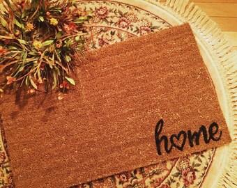 Home Doormat, Custom Doormat, Door Mats, Welcome Mats, Outdoor mats, Outdoor rugs, Home Door Mat, Housewarming gift