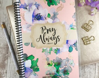 Prayer planner christian gifts illustrated faith prayer prayer journal christian gift gratitude journal illustrated faith bible study bible negle Gallery