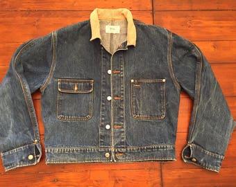 Vintage Polo jean jacket -Medium