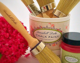 Annabell Duke 50 mm round paint or wax brush.