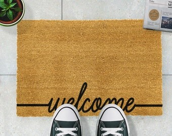 Welcome doormat - 60x40cm - Quirky doormat