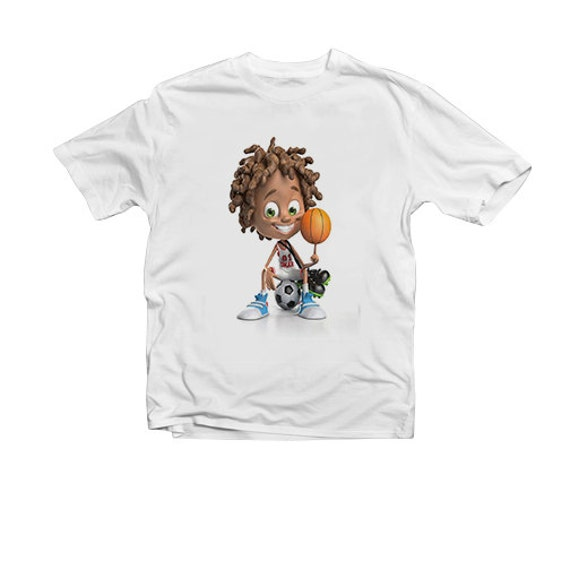 Cool Basketball Tshirt For Boys And Girls Dope Design Kids T