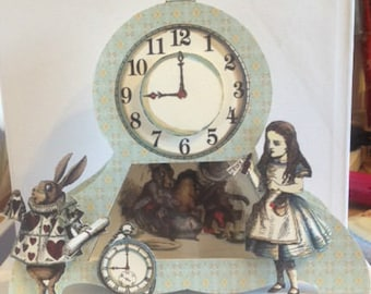 Alice in Wonderland, Gift box, Ornament, Classic Gift, Special keepsake.