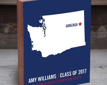 Gonzaga - Gonzaga Bulldogs - Gonzaga University - College Graduation Gift