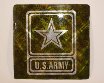 United States Army Military Metal Sign
