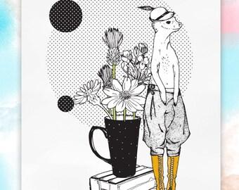 Hipster Meerkat