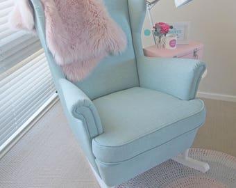 Rocking chair conversion kit [White]