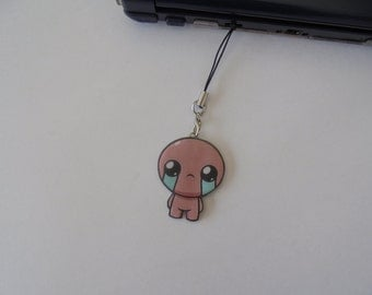 The binding of isaac - DS Charm - Silver Necklace - Tattoo Necklace - Keychains - Brooch - Movile Strap - Choker - Lanyard - Charm