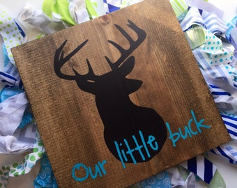Deer silhouette wall decor