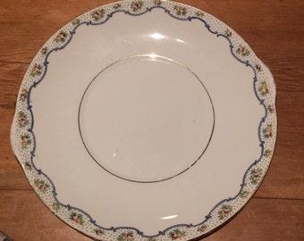 E Hughes & Co Bone China Cake Plate circa 1914-1940