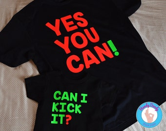 Can I Kick It? Yes You Can! - Tribe Called Quest Inspired - Hip Hop - Matching Kids/Adult Shirts - Rap Lyrics - We The People - Anthology