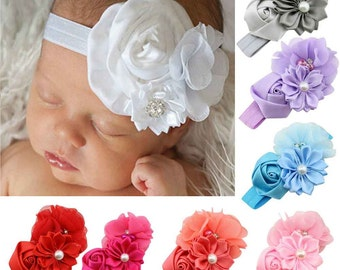 Baby Hair Band Chiffon