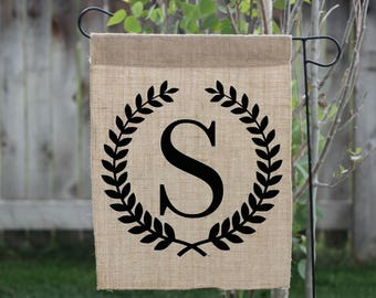 Monogram Yard Flag, Personalized Yard Sign, Personalized Yard Flag, Welcome Sign, Campsite Sign, Welcome To Our Campsite, Camping Flags