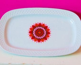 Beautiful vintage cake plate by SCHIRNDING Bavaria Germany