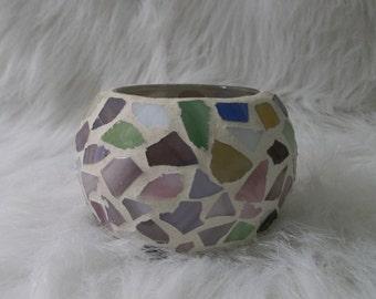 Handmade Colorful Glass Vase Ornament