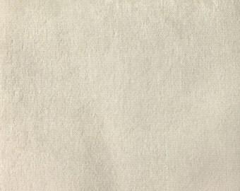 Velvet Upholstery Fabric - Byron - Ivory - Premium Plush Sateen Velvet Upholstery Fabric by the Yard - Available in 49 Colors