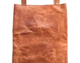 Calfskin Leather Tote Bag