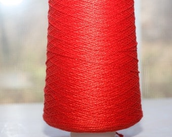3/2 Pearl Cotton cone, color Sangria 130