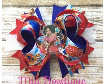 Elena of Avalor Hair Bow, Elena of Avalor Birthday Party, Princess Elena of Avalor Hair Bow, ...