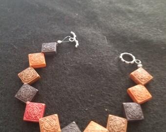 Multi color Resin Bracelet