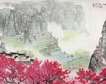 Chinese traditional landscape painting BXS67