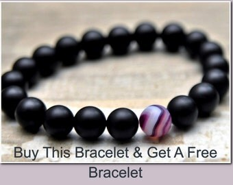 Bogo Sale Men Gifts Long Distance Relationship Bracelet Gift For Boyfriend Gifts For Him Gifts For Brother Gifts Black Friday Cyber Monday