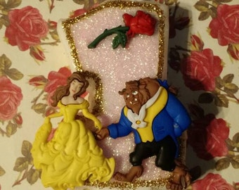 Beauty & the Beast Candle