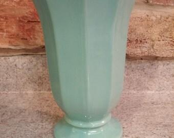 Vintage McCoy USA Robins Egg Blue Vase