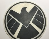 3D Printed SHIELD Logo Coaster / Plaque