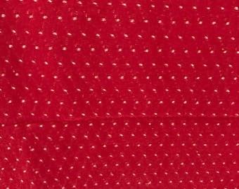 VINTAGE RED CURTAINS