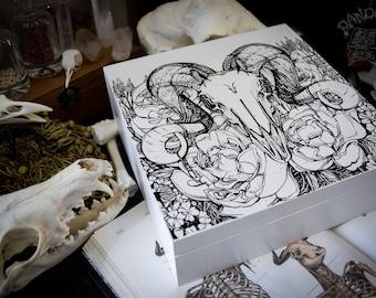 Box - Ram Skull
