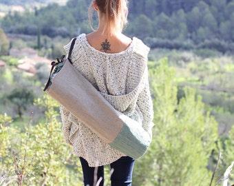 Vert sac à tapis de yoga