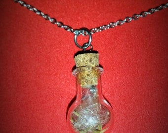 Wish in a Bottle Pendant Necklace