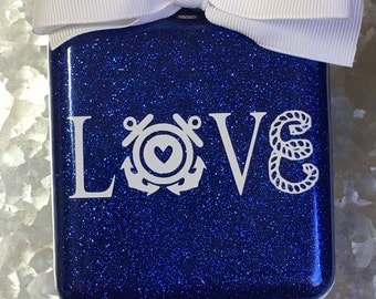 Coast Guard love ornament