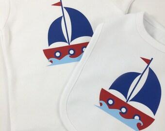 Sail Away Newborn Gift Set