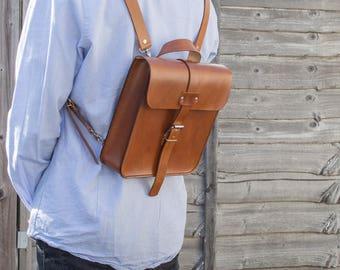 Leather Backpack, Leather Bag, Messenger Bag, Shoulder Bag