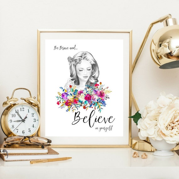 Art print gift for her bedroom decor best friend gift from for Bedroom gifts for her