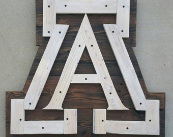 Officially Licensed - University of Arizona A | University of Arizona | Wildcats | UofA | Arizona | Beardown