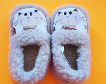 child slippers | home kids slippers | wool slippers | home child shoes