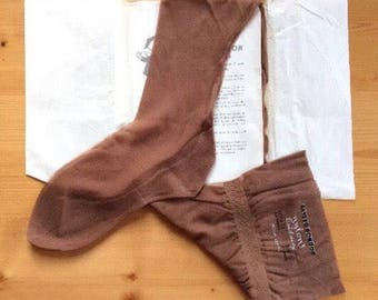 1950s Vintage Stockings Keyser Hold Ups Thigh Highs Seam Point Cuban Rare 50s Hosiery Unworn Collection