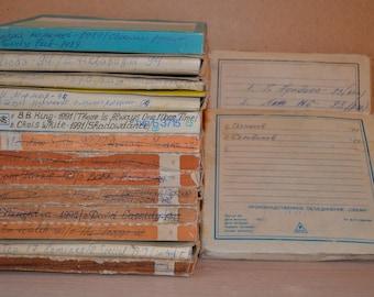 Lot of 15 used reel tu reel tapes from USSR n15