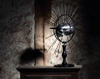 Craniometer with human skull