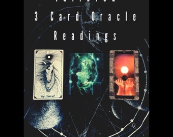 Tailored 3 Card Oracle Reading