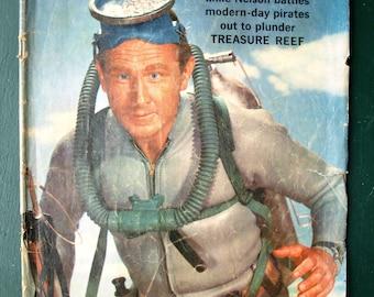 Classic TV Adventure Comics Sea Hunt: aka Dell Four-Color no 994 copyright 1959