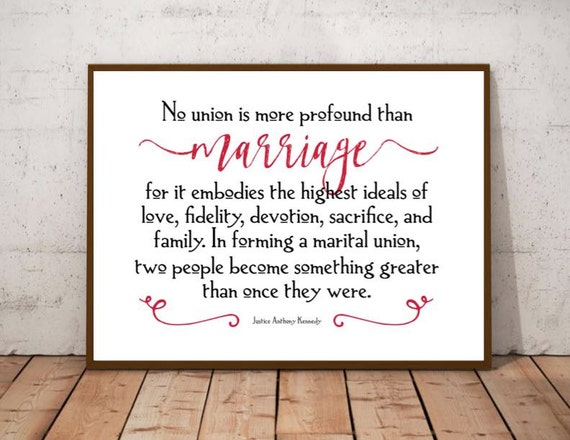 Gay Marriage Gift Equality Quotes Wedding Sign Marriage