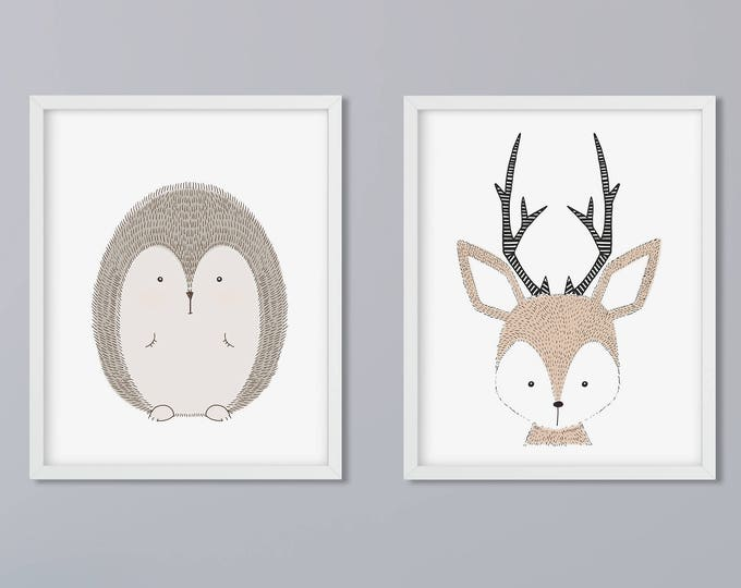 2 photo set animals of choice art print