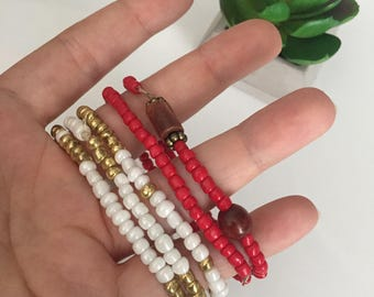 Beaded Layer Bracelets