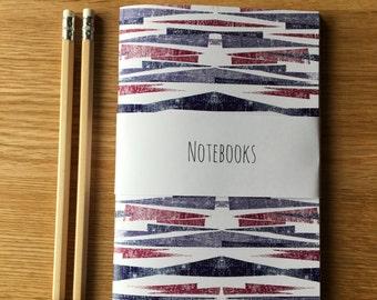 Set of 3 patterned notebooks