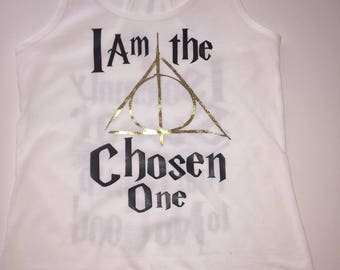 I Am The Chosen One, Deathly Hallows Triangle symbol , Harry Potter Themed Bachelorette Party,Mischief Manager, Bride Tribe, Bride's Crew