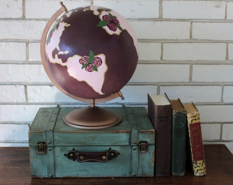 Hand painted Custom Globe
